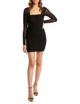 tasha-mesh-bodycon-mini-dress by bardot