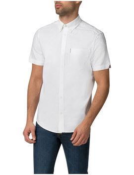 short-sleeve-classic-oxford-white-shirt by ben-sherman