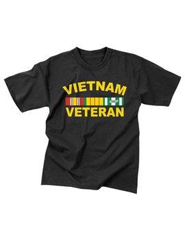 rothco-vietnam-veteran-t-shirt---black,-medium by rothco