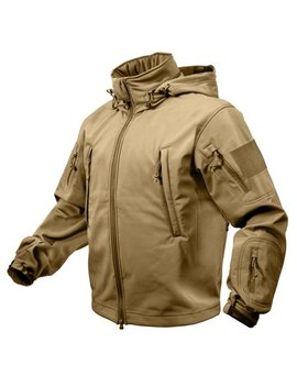 rothco-special-ops-tactical-soft-shell-jacket---coyote-brown,-small by rothco