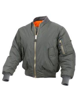 rothco-enhanced-nylon-ma-1-flight-jacket,-military-bomber-jacket by rothco