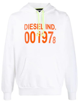 s-girk-logo-hoodie by diesel