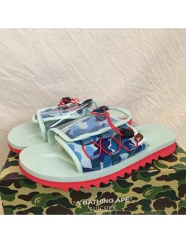 a-bathing-ape-bape-x-suicoke-dao-sandal by bape  ×  suicoke  ×