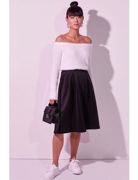 Scuba Midi Skirt by Ardene