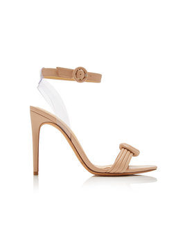 vicky-knotted-leather-and-pvc-sandals by alexandre-birman