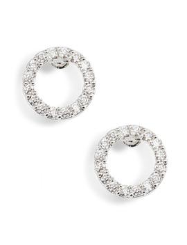 cubic-zirconia-circle-stud-earrings by estella-bartlett