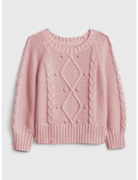 Toddler Cable Knit Sweater by Gap