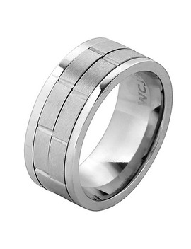 mens-west-coast-jewelry-stainless-steel-dual-spinner-ring by west-coast-jewelry