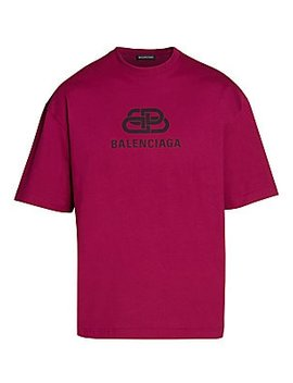 logo-t-shirt by balenciaga
