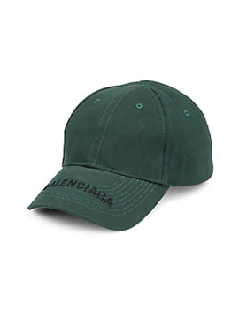 logo-cotton-visor-cap by balenciaga