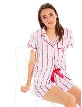 Classic Stripe Short Sleeve Pj Set by Peter Alexander