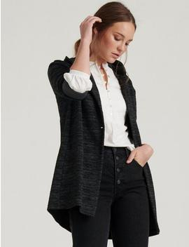 Hooded Button Jacket by Lucky Brand