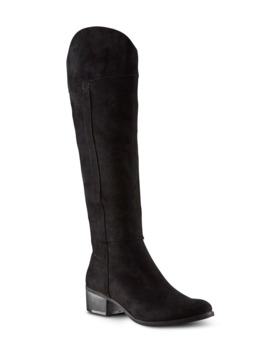 Women's Sofie Knee High Boots   Black by Denver Hayes
