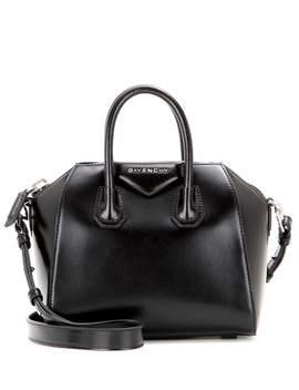 'mini Antigona' Box Leather Satchel   Black by Givenchy