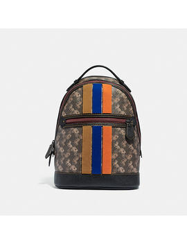 barrow-backpack-with-horse-and-carriage-print-and-varsity-stripe by coach