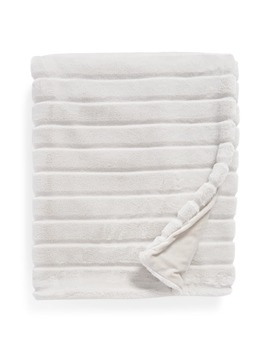 sheared-stripe-faux-fur-throw by nordstrom-at-home