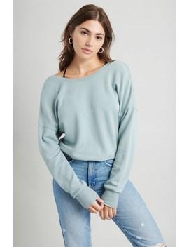 reversible-v-neck-sweatshirt by garage