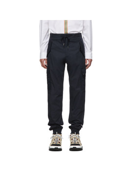 navy-patch-pocket-trousers by burberry