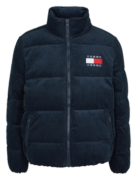 Navy Quilted Corduroy Jacket by Tommy Jeans