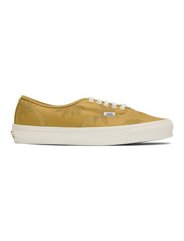 yellow-island-leaf-og-authentic-lx-sneakers by vans