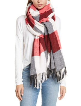 buffalo-plaid-wool-blend-scarf by rag-&-bone