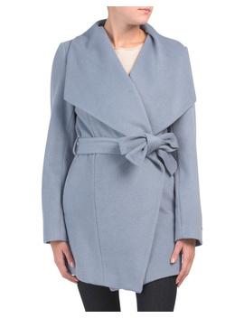 layla-wool-blend-wrap-coat by tahari