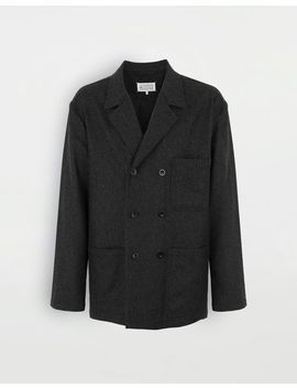 Double Breasted Blazer by Maison Margiela