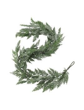 guirnalda-de-hojas-efecto-hielo-navidad-el-corte-inglés by el-corte-inglés