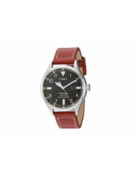 waterbury-leather-strap by timex