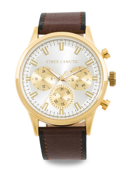 mens-gold-accented-dial-watch by vince-camuto