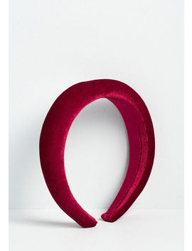 wine-country-getaway-velvet-headband by modcloth
