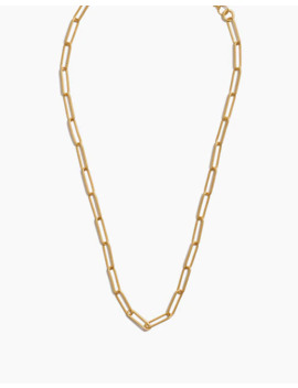 paperclip-chain-necklace by madewell