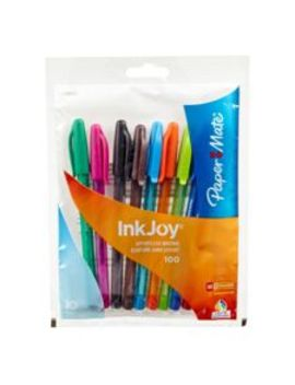 paper-mate-inkjoy-100-stick-medium-point-pens,-10-pk by canadian-tire