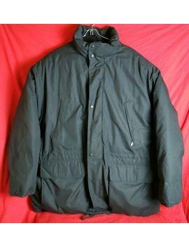 eddie-bauer-men-xlarge-xl-black-heavy-puffer-ridge-line-goose-down-zip-jacket by eddie-bauer