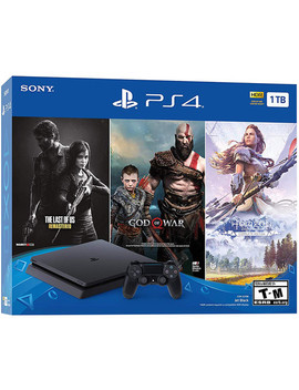 Sony Play Station 4 Bundle With The Last Of Us: Remastered, God Of War & Horizon Zero Dawn: Complete Edition by Sony