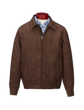 microsuede-bomber by roundtree-&-yorke