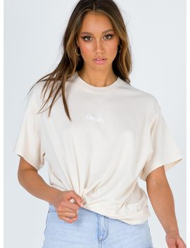 afends-sunday-girl-os-tee-bone by afends