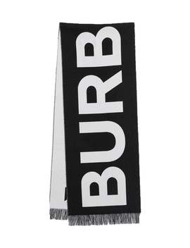 Burberry          Large Logo Scarf by Burberry