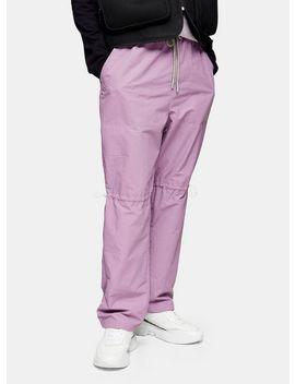 jaded-purple-technical-joggers* by topman