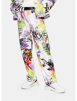 Jaded Graffiti Print Skate Jeans* by Topman