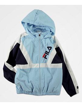 fila-boys-santo-powder-blue-windbreaker-jacket by fila-youth