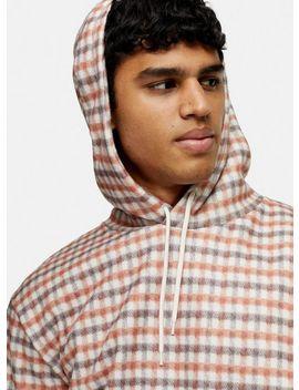 ecru-and-orange-hoodie by topman