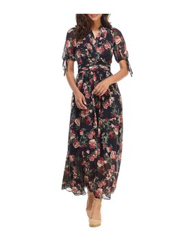 petite-size-ashlynn-chiffon-floral-print-rosalie-maxi-dress by gal-meets-glam-collection