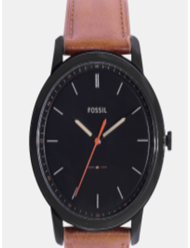 men-black-analogue-watch-fs5305 by fossil