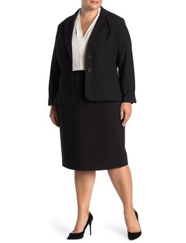 pencil-skirt-(plus-size) by lafayette-148-new-york
