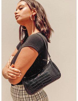 peta-&-jain-piper-bag-black-croc by peta-and-jain
