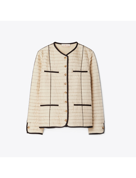 Quilted Jacket by Tory Burch