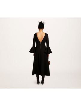 Wool Deep V Neck Dress by Marc Jacobs