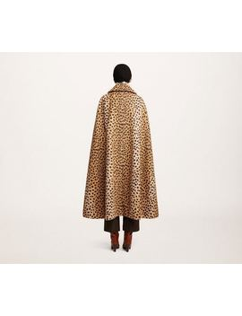 Printed Alpaca Cape by Marc Jacobs