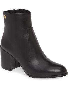 quinn-block-heel-bootie by stuart-weitzman
